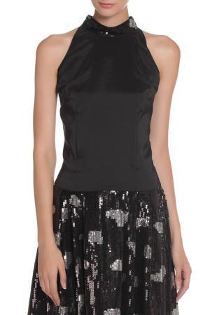 Платье MODART. Цвет: черный, серебристый