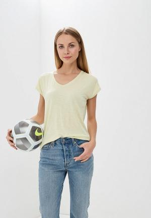 Футболка Marks & Spencer. Цвет: желтый