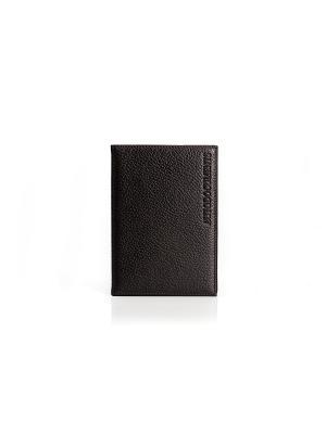 Бумажник водителя, Texas коричневый Domenico Morelli. Цвет: коричневый