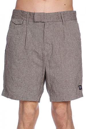 Классические мужские шорты  Sartorial Mid Grey Slub Insight. Цвет: серый