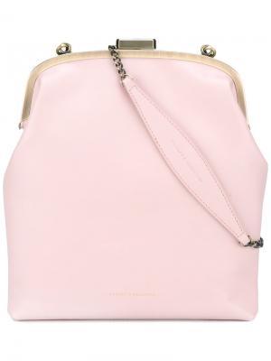 Сумка на плечо Emma Tammy&Benjamin. Цвет: розовый и фиолетовый