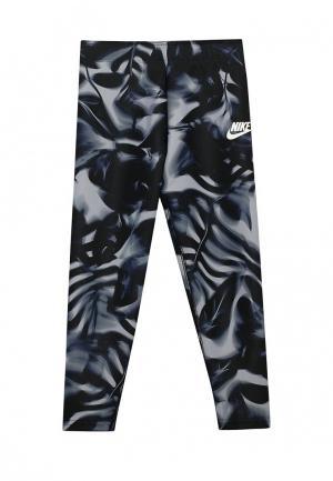 Капри Nike. Цвет: серебряный