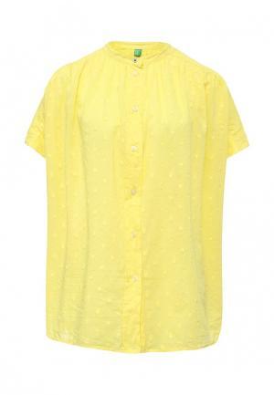 Блуза United Colors of Benetton. Цвет: желтый