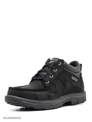 Ботинки SKECHERS. Цвет: черный