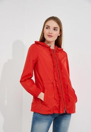 Куртка Armani Exchange. Цвет: красный