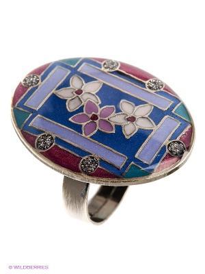Кольцо Clara Bijoux. Цвет: сиреневый, фиолетовый, бордовый, лиловый