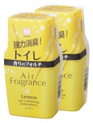 Air Fragrance фильтр запахов в туалете с ароматом лимона 2шт. Kokubo. Цвет: желтый