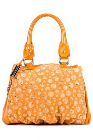 Сумка SARA BURGLAR. Цвет: оранжевый