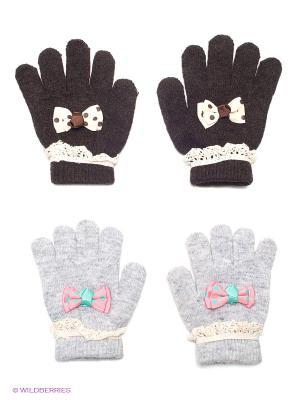 Перчатки, 2 пары FOMAS. Цвет: серый, молочный, розовый, черный