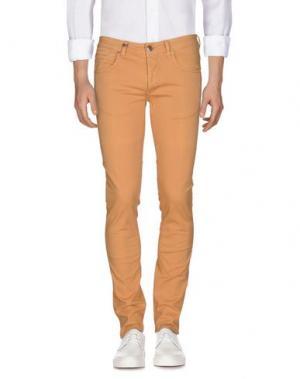 Джинсовые брюки DW⁵. Цвет: абрикосовый