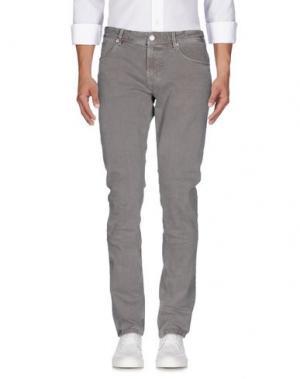 Джинсовые брюки PT05. Цвет: бежевый