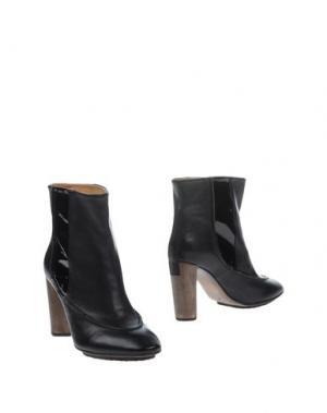 Полусапоги и высокие ботинки ELLEN VERBEEK. Цвет: черный