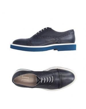 Обувь на шнурках LORIBLU. Цвет: темно-синий