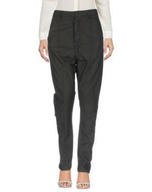 Повседневные брюки POÈME BOHÈMIEN. Цвет: черный