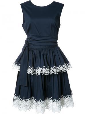 Платье Desiree Alexis. Цвет: синий