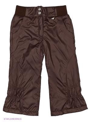 Брюки Hippo Hoppo. Цвет: коричневый