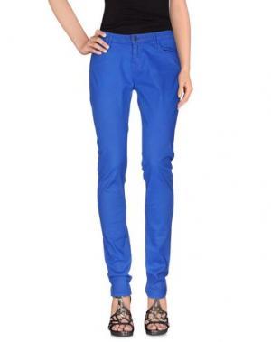 Джинсовые брюки DENHAM. Цвет: ярко-синий