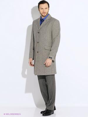 Пальто btc. Цвет: светло-серый