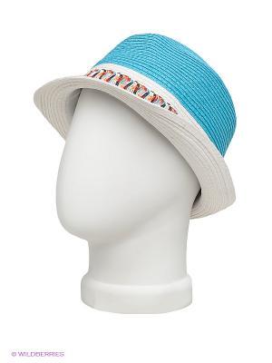 Шляпа Maxval. Цвет: белый, голубой