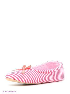 Тапочки HOBBY LINE. Цвет: розовый
