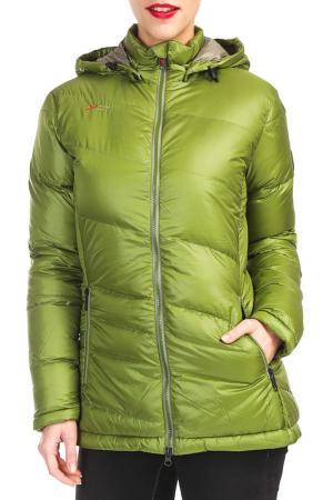 Куртка YETI. Цвет: зеленый