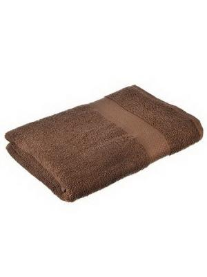 Полотенце махровое KONONO. Цвет: коричневый