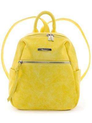 Рюкзак S.LAVIA. Цвет: желтый