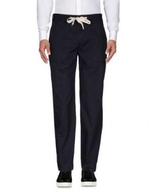 Повседневные брюки GARBSTORE. Цвет: темно-синий