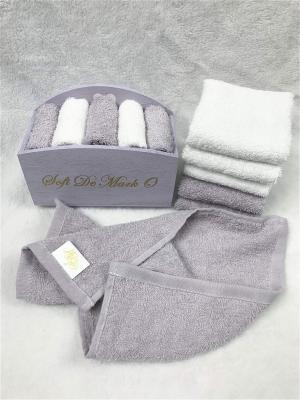 Набор салфеток в декоративной упаковке Sofi de Marko. Цвет: фиолетовый