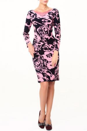 Платье Лорна LESYA. Цвет: мультицвет