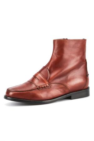 Ботинки G.H. BASS. Цвет: коричневый