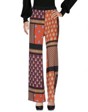 Повседневные брюки LES BLANC. Цвет: ржаво-коричневый