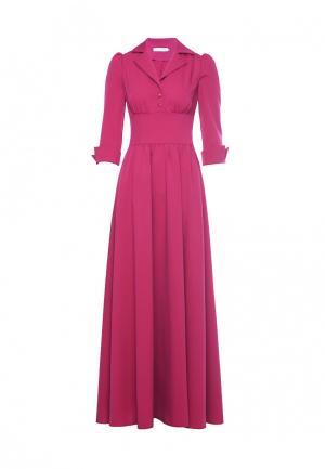 Платье Olivegrey. Цвет: фуксия