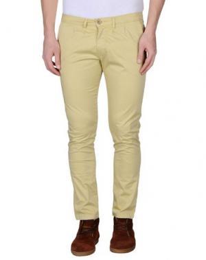 Повседневные брюки - -ONE > ∞. Цвет: светло-желтый