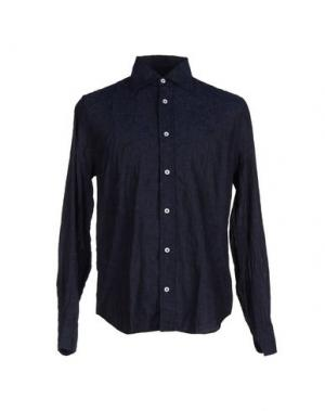 Pубашка 9.2 BY CARLO CHIONNA. Цвет: темно-синий
