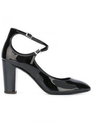 Туфли с ремешком Giuseppe Zanotti Design. Цвет: чёрный