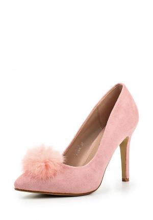 Туфли Girlhood. Цвет: розовый