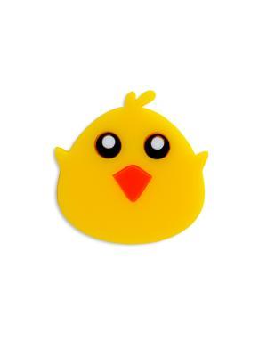 Цыпленок Сплетница. Цвет: черный, желтый, оранжевый