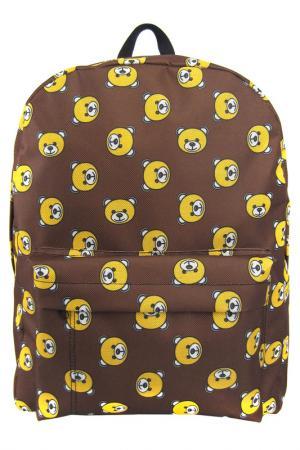 Рюкзак Мишки Creative. Цвет: коричневый