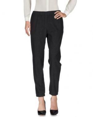 Повседневные брюки FRENCH CONNECTION. Цвет: стальной серый