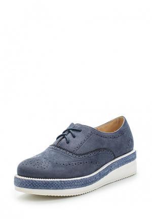 Ботинки Renda. Цвет: голубой