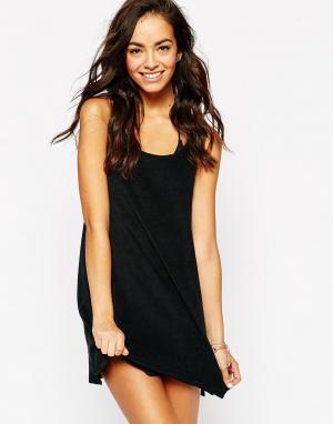 Echo Махровое пляжное платье Solid. Цвет: 001 black