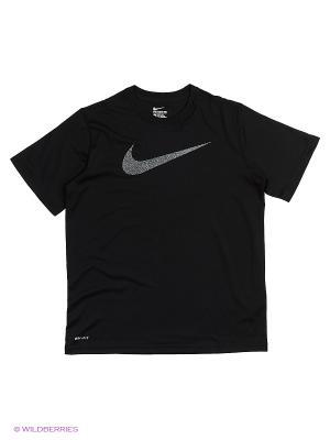 Футболка LEGEND TALISTATIC SWSH TEE YTH Nike. Цвет: серый