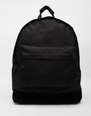 Mi-Pac Классический черный рюкзак. Цвет: черный