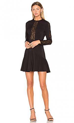 Мини платье daphne Lover. Цвет: черный