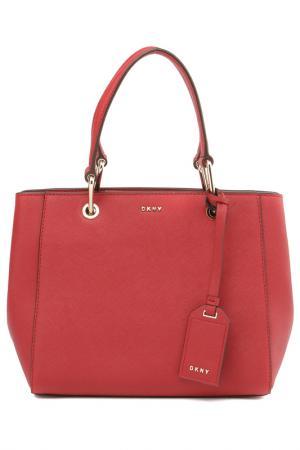 Сумка DKNY. Цвет: bright red