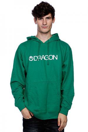 Толстовка  Trademark Hood F12 Kelly Green Dragon. Цвет: зеленый