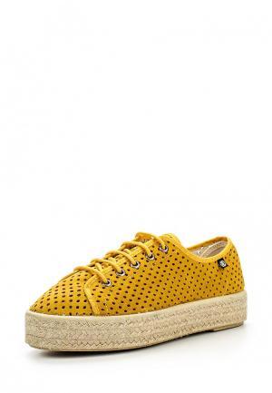 Ботинки Cuple. Цвет: желтый