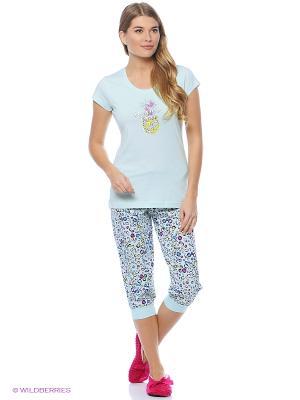 Комплект одежды Vienetta Secret. Цвет: бирюзовый