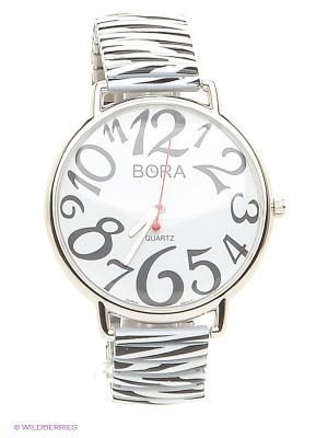 Часы Bora. Цвет: белый